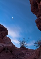 Garden of the Gods,Colorado,moon,venus