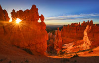 Bryce Canyon, Utah, Navajo Trail, sunrise