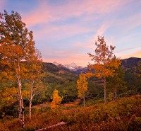 Capitol Peak,Snowmass,sunset,Colorado