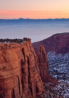 Colorado National Monument,sunrise