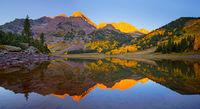 Crater Lake,Aspen,Colorado,sunrise
