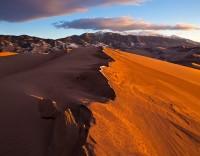 Great Sand Dunes,Colorado,sunset