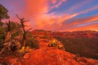 Sedona,sunrise,Doe Mountain,vortex