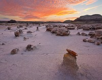 Bisti Badlands,sunrise,formations,new mexico