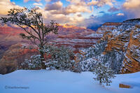 Grand Canyon,south rim,winter