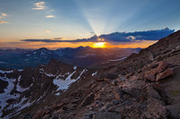Mount Evans, Colorado,sunset,Sawtooth