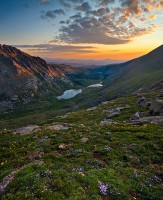 Mount Evans,sunrise