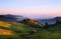 fog,Kneeland,California,sunset