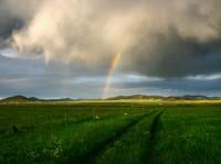 Westcliffe,Colorado,rainbow,storm