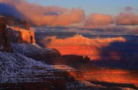 Grand Canyon,Arizona,Kaibab,Winter