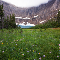 Glacier National Park, Montana,Iceberg Lake