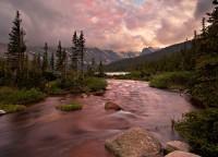 Indian Peaks,Long Lake,Colorado