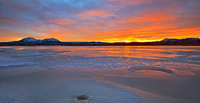 Lathrop State Park,Colorado,sunset