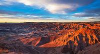 Little Painted Desert, sunset