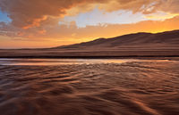 Great Sand Dunes, Colorado, Medano Creek