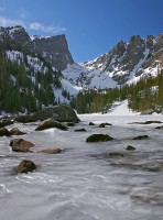 Dream Lake,Rocky Mountain,Colorado