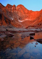 Chasm Lake,Rocky Mountain,Longs Peak,Colorado