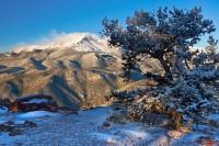 Pikes Peak,snowfall,Rampart Range Road