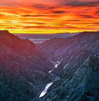 Royal Gorge,sunrise