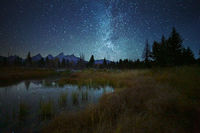 Grand Teton,Wyoming,night