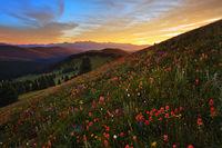 Shrine RIdge,Vail,Colorado,sunset