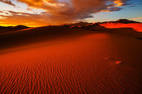 Great Sand Dunes National Park, Colorado, sunset