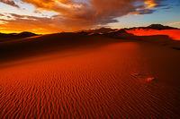 Great Sand Dunes National Park, Colorado, sunset