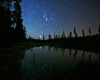 String Lake,Grand Teton,Wyoming,night
