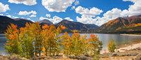 Twin Lakes, fall, Colorado