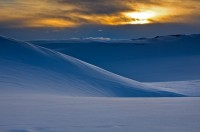 Great Sand Dunes,snow,Colorado,sunset