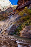 Zion National Park,Utah,Narrows,Virgin,waterfall