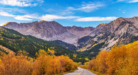 Ashcroft, Aspen, Colorado, fall, sunrise