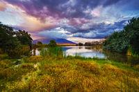blanca wetlands, san luis valley, colorado