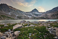 Mount Toll,Indian Peaks,Blue Lake,Colorado