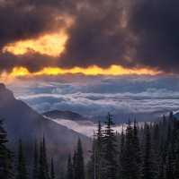 Olympic National Park,Washington,hurricane ridge,sunrise