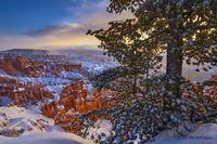 Bryce Canyon,sunrise,Sunset Point