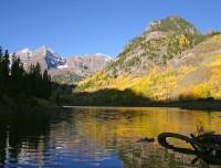 Marron Bells,Colorado,aspen