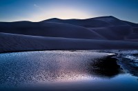 medano creek,great sand dunes,colorado,blue
