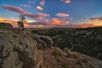 greneros gorge,sunset,colorado