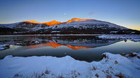 Guanella Pass,Mount Evans,sunrise
