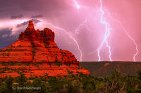 Bell Rock,Sedona,lightning