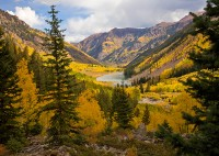 Maroon Lake,Colorado,Aspen
