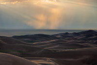 Great Sand Dunes,Colorado,High Dune.sunset