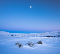 Paint Mines,Calhan,Colorado,moon,Winter