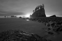 Second Beach,Olympic,Washington