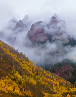 Sievers Mountain,Maroon Bells,Aspen,Colorado