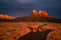 Sedona, Cathedral Rock, Arizona, sunset