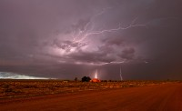 Pueblo,monsoon,lightnin,Colorado