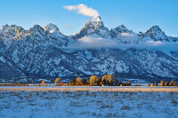Grand Teton,Antelope Flats,Wyoming