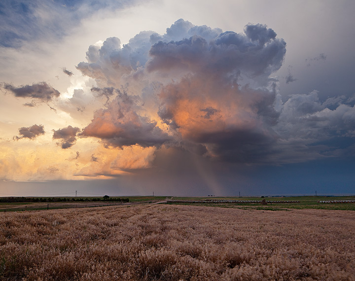 Colorado,thunderstorm,sunset